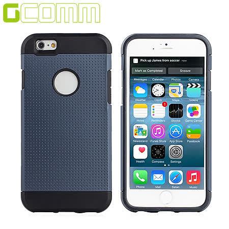 GCOMM iPhone6S/6 4.7吋 Slim Shield 圓薄盾甲保護殼 優雅藍
