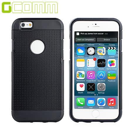 GCOMM iPhone6S/6 4.7吋 Slim Shield 圓薄盾甲保護殼 紳士黑