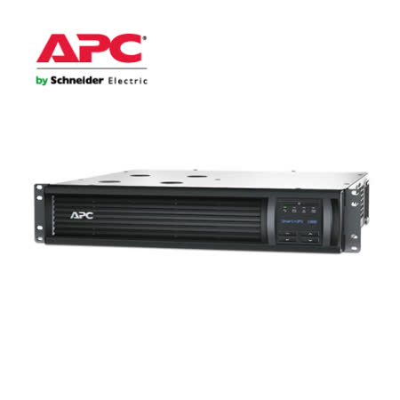 APC 不斷電系統 2U機架式Smart-UPS SMT系列  (SMT1000RM2UTW)