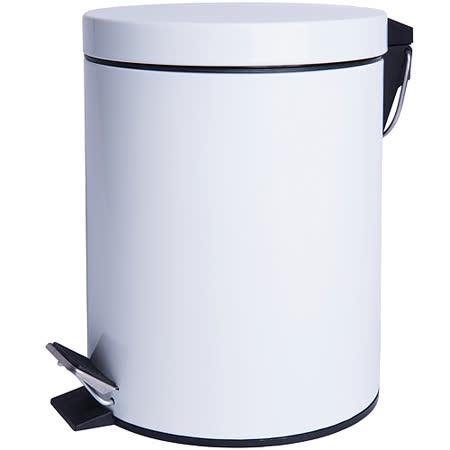 【好物分享】gohappy《EXCELSA》Cleany腳踏式垃圾桶(白5L)去哪買快樂 購物 網站