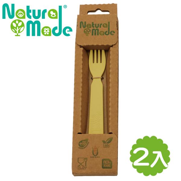 ~Natural Made~ 環保玉米餐具 ~ 叉子2件組 14x2.4x1cm