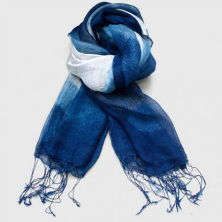 OTOP_藍染絲巾