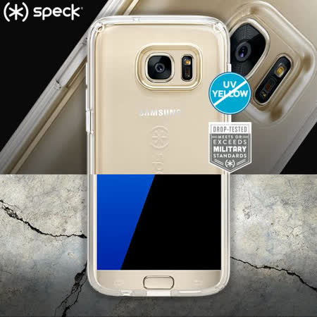 Speck CandyShell Clear Samsung Galaxy S7 Edge 透明防摔保護殼
