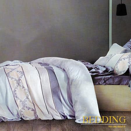 【BEDDING】似水流年 天絲床包雙人兩用被組 100%TENCEL