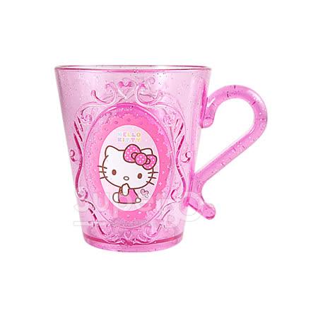 兒童壓克力造型水杯-Hello Kitty