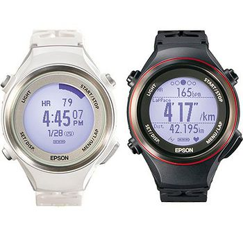 Epson Runsense SF-850 心率路跑教練運動腕錶(4入) 組