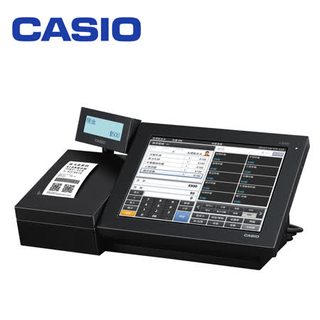 【贈錢櫃】卡西歐 CASIO V-R100 Andriod 系統全彩觸控 POS 收銀機