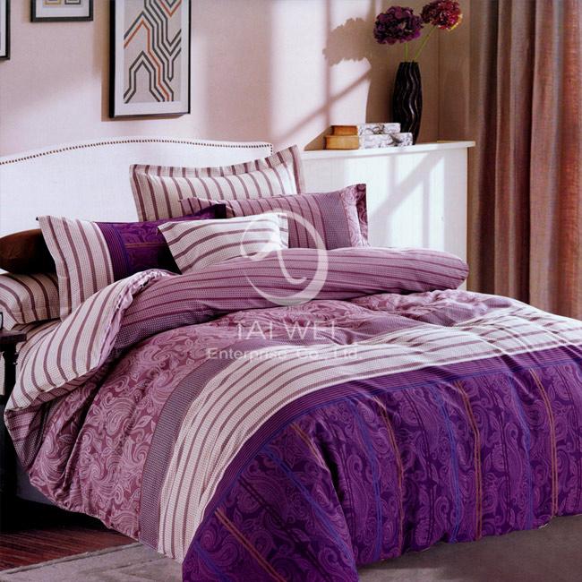 ~流光飛舞~雙人純棉四件式涼被床包組