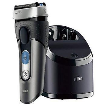 百靈CoolTec系列冰感科技三刀頭電動刮鬍刀CT3CC_限時加贈3D電動牙刷PRO 500