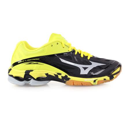 (男) MIZUNO 排球鞋  LIGHTNING Z2- 美津濃 黃黑銀