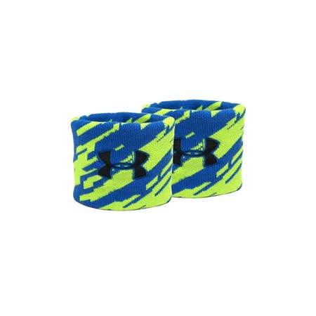 UNDER ARMOUR UA  JACQUARD護腕-籃球 羽球 藍綠 F