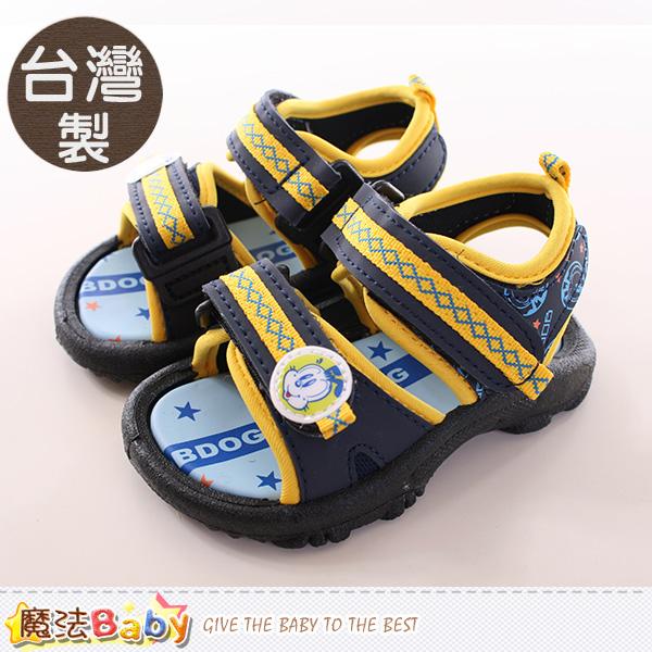 魔法Baby~男童鞋 台灣製BOB DOG正版兒童涼鞋 sh9691