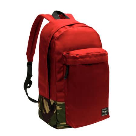 【SUMDEX】PON-123(黑色BK/藍NV/紅RD)探險家後背包 15.6吋(無電腦隔層)