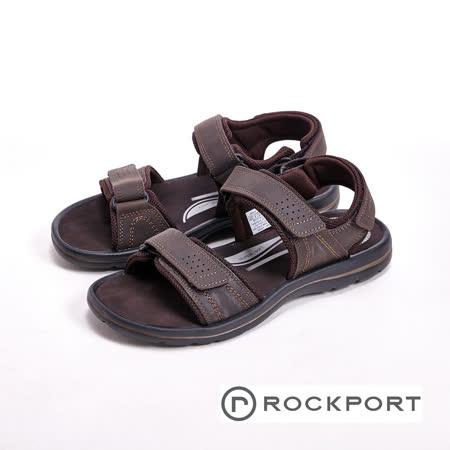 ROCKPORT 夏季舒適減壓可調節休閒鞋 男鞋-咖(另有黑)