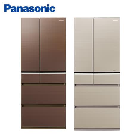 Panasonic 國際牌日本製608公升變頻六門冰箱NR-F611VG