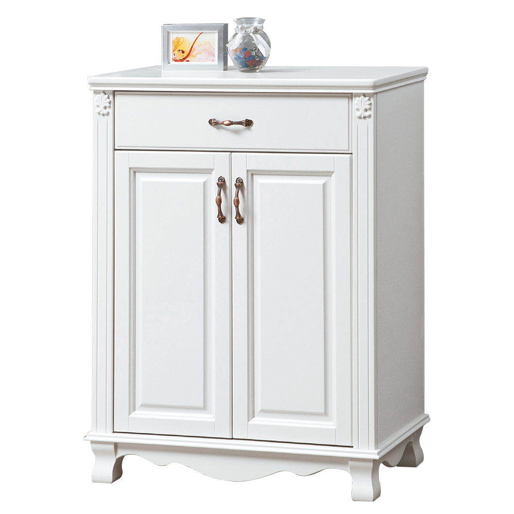 ~顛覆 ~思凡法式純白色2.7尺鞋櫃