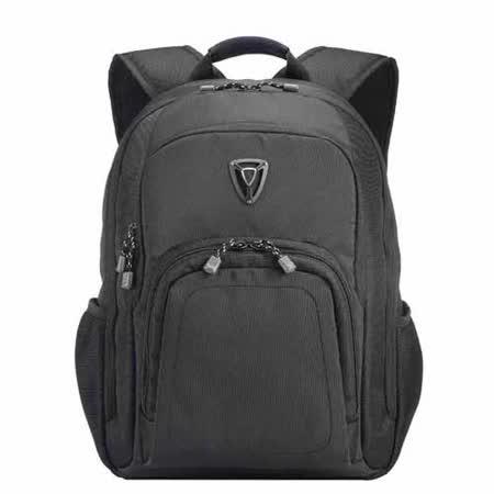 【SUMDEX】PON-394(BK黑/TY軍綠) X-sac 雨衝擊電腦背包15.6吋+iPad
