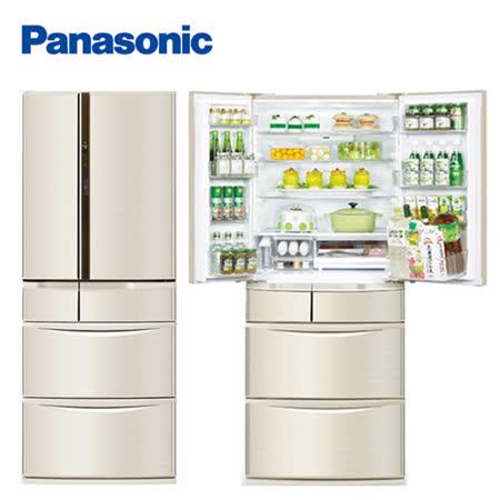 Panasonic 國際牌日本製608公升旗艦ECONAVI六門變頻冰箱NR-F610VT