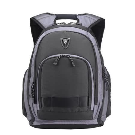 【SUMDEX】PON-395GY 防雨三合一包( 筆電包+平板包+相機包---三種整合)旅行&出差 最佳選擇 15.6吋+iPad+相機