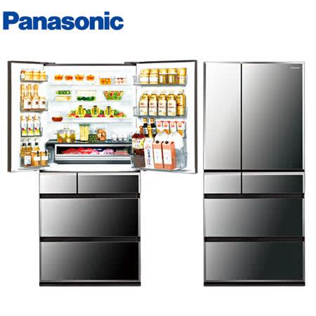 Panasonic 國際牌日本製尊爵675公升變頻六門冰箱NR-F681WX