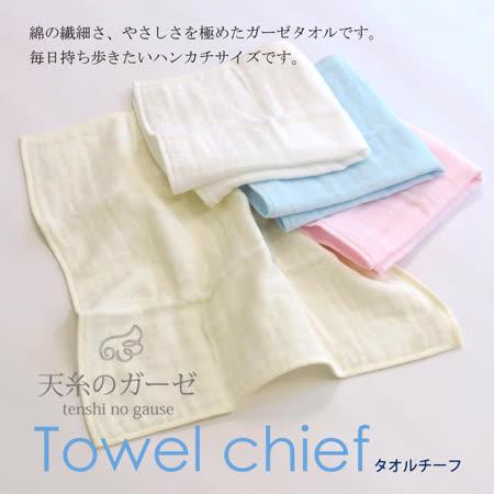 【クロワッサン科羅沙】日本泉州~內無撚天絲方巾 33*33cm
