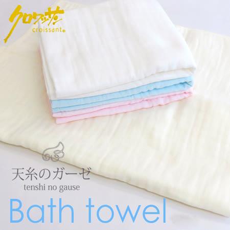 【クロワッサン科羅沙】日本泉州~內無撚天絲浴巾(包巾) 70*120cm