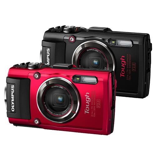 OLYMPUS TG-4 防水防衝擊大光圈相機(公司貨)-加送32G卡+專用電池+專用座充+清潔組+小腳架+保護貼
