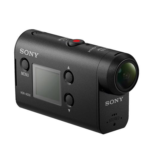 SONY HDR-AS50 運動攝影機(公司貨)-加送 32G卡+專用電池+專用座充+清潔組+小腳架+讀卡機