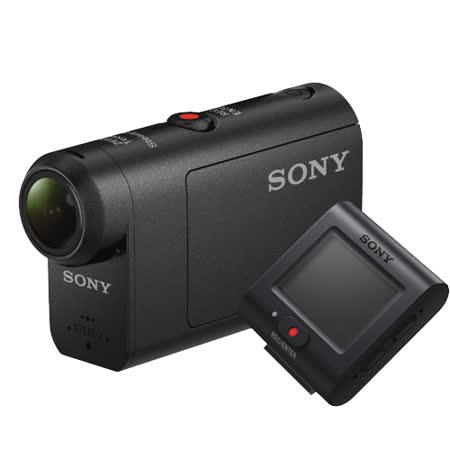 SONY HDR-AS50R 運動攝影機(公司貨)-加送64G卡+專用電池X2+專用座充+清潔組+小腳架+讀卡機