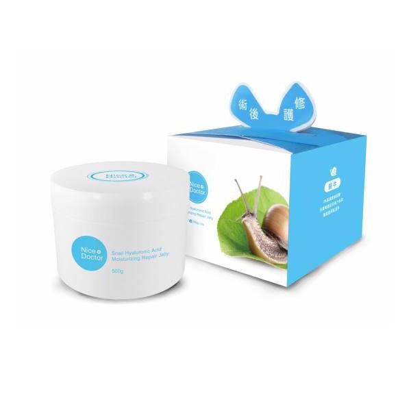 【爆漿凍膜】NiceDoctor 蝸牛玻尿酸保濕修護凍膜 500g