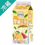 果茶物語-黃金雙柚紅茶 650ML/瓶
