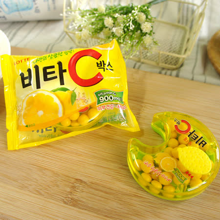 【LOTTE】 Vita C檸檬糖