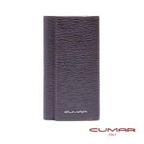 CUMAR 義大利牛皮-多功能鑰匙包-咖啡色
