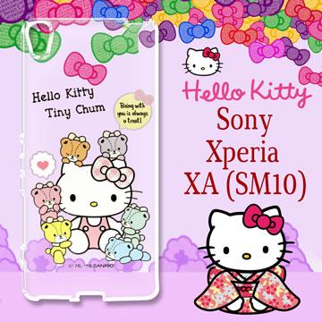 三麗鷗 Hello Kitty 凱蒂貓 SONY Xperia XA ^(SM10^) 雕