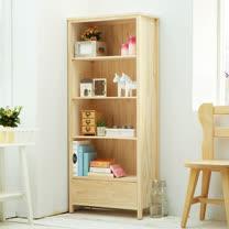 [自然行] 原木書櫃 (扁柏自然色/安全環保塗裝)