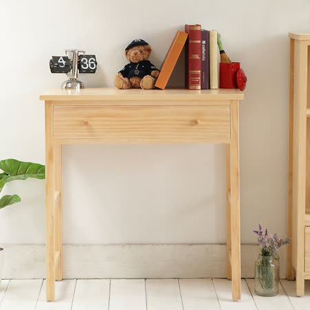 [自然行]多機能書桌/ 兩用桌 (寬80cm/水洗白)