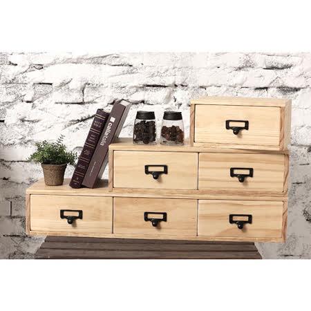 [工業風] 實木收納盒M款 (扁柏自然色/ 免組裝/ 文具盒/ 堆疊收納/ 文創小品)
