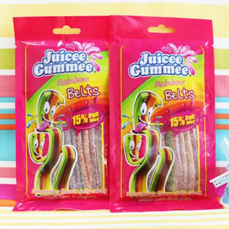 【Juicee Gummee】水果酸帶-炫彩水果口味