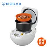 【 TIGER 虎牌】日本製_10人份微電腦炊飯電子鍋(JBV-S18R-WX)買就送虎牌480CC保冷保溫杯+專用料理食譜