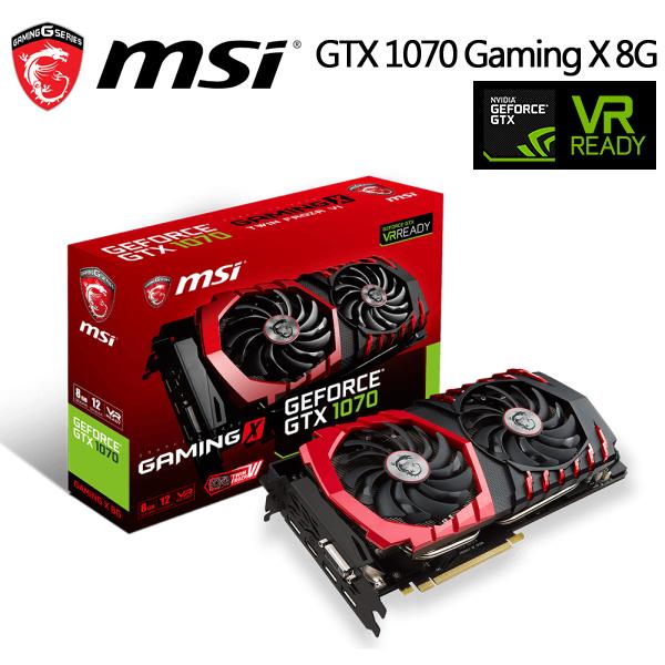 微星 GeForce GTX1070 GAMING X 8G 顯示卡