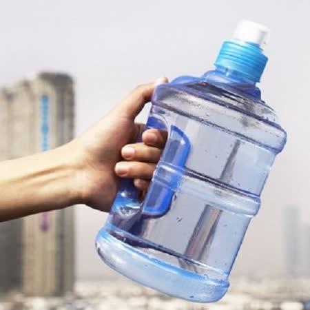 【PS Mall】 運動帶手柄便攜把手水桶隨手杯水瓶 水壺 500ml 1000ml  (J489)