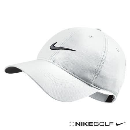 Nike Golf 老帽 軟帽 透氣 復古 可調式-白518015-100