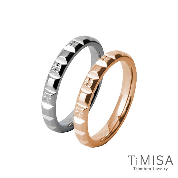 ~TiMISA~濃情巧克力^(雙色^) 純鈦對戒