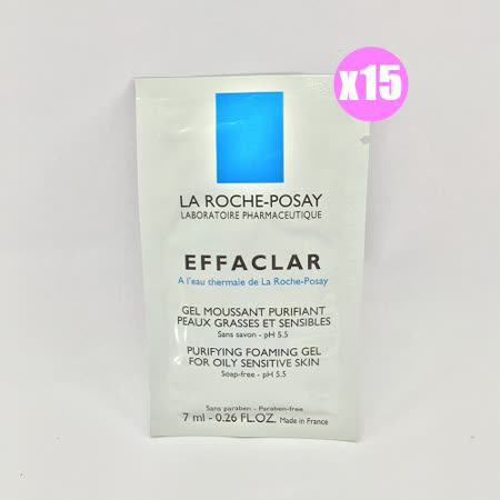 La Roche Posay 理膚寶水 青春潔膚凝膠 7ml*15