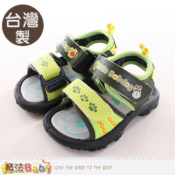 魔法Baby~男童鞋 台灣製BOB DOG正版兒童涼鞋 sh9766