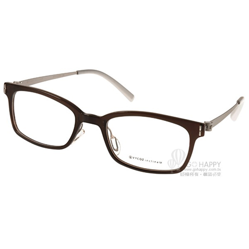 VYCOZ光學眼鏡 完美工藝簡約款^(棕~銀^) ^#KALY BRN~TITAN~G
