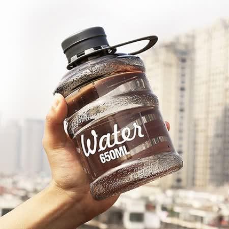 【PS Mall】 韓國新款創意mini迷你bottle學生飲水機水桶隨手杯650ML 水壺 2入組(J2381)