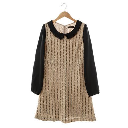 Ps' company 棉質洋裝-黑米