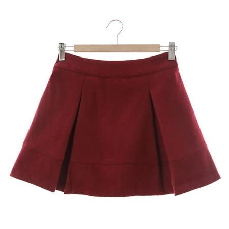 T-PARTS 百搭短裙-紅