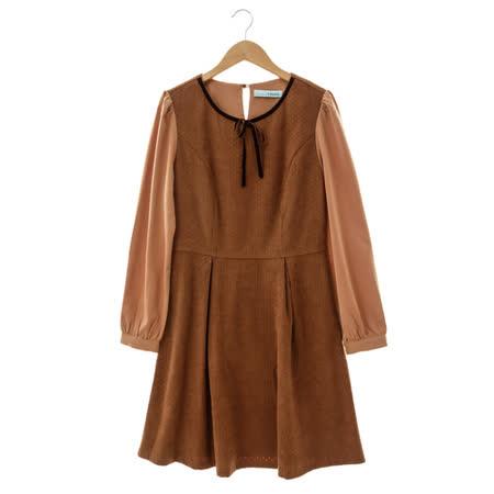 T-PARTS 百搭洋裝-棕